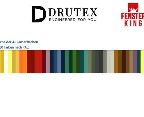 Drutex Aluminiumfenster fenster günstig kaufen